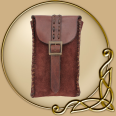 LARP Merchant Suede Bag